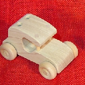 Flintstone type car