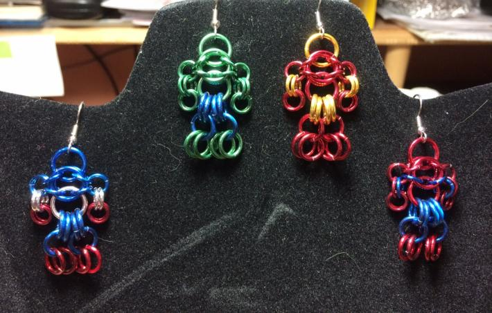 Avenger Themed Chainmaille Figures
