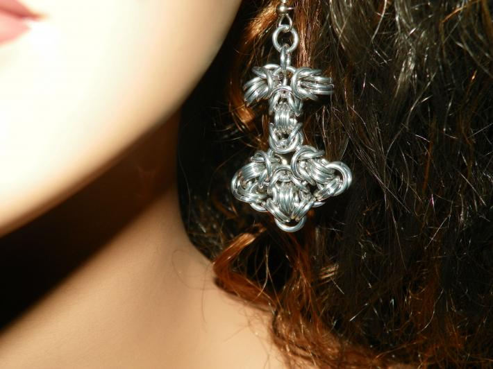 Thors Hammer Mjolnir Earrings