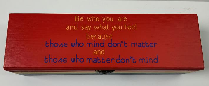 Be Who You Are Box