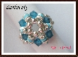 Swarovski Blue Turquoise Bling Bling Ring PDF Tutorial