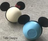 Mickey Ears Eos Lip Balm Holders Birthday Showers Gifts Favors
