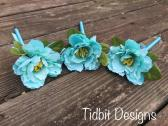 Tiffany Inspired Guest Book Flower Pen