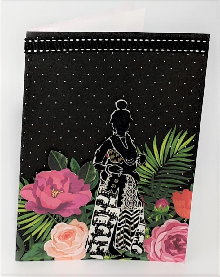 African Princess I Greeting Card