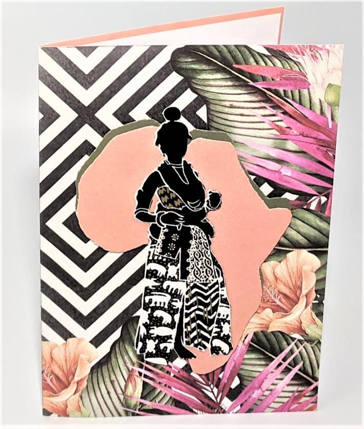 African Princess II Greeting Card