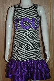 TCU Ribbon Dress
