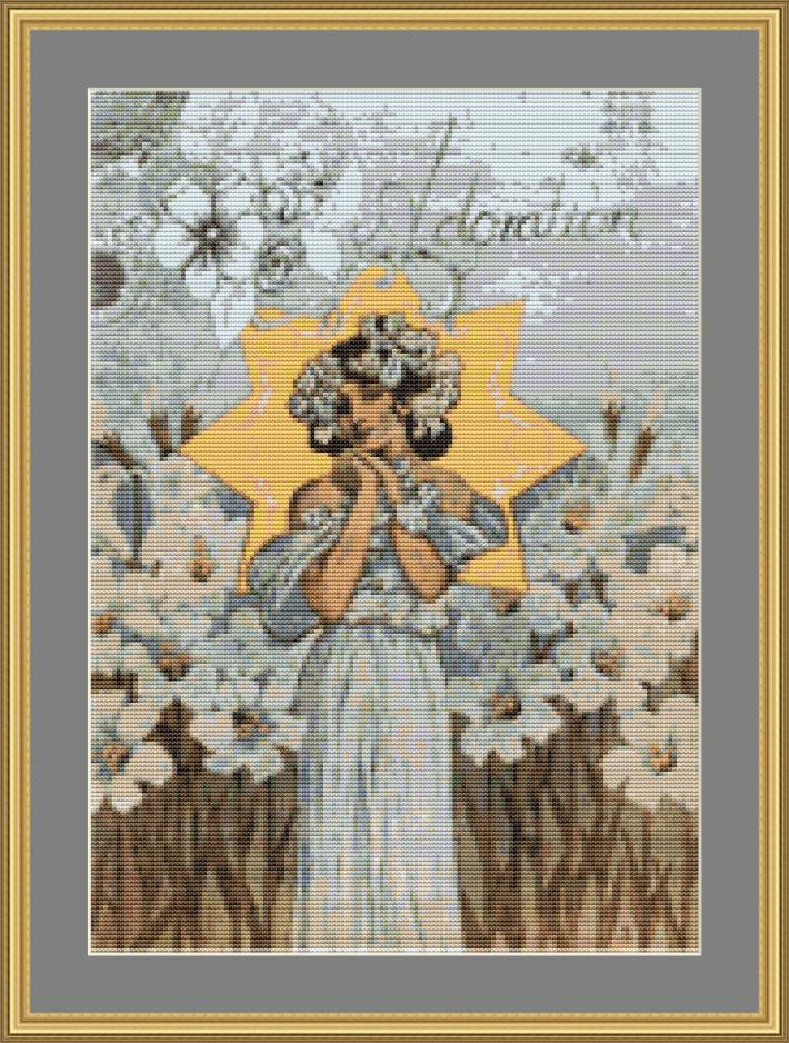 Adoration Cross Stitch Pattern