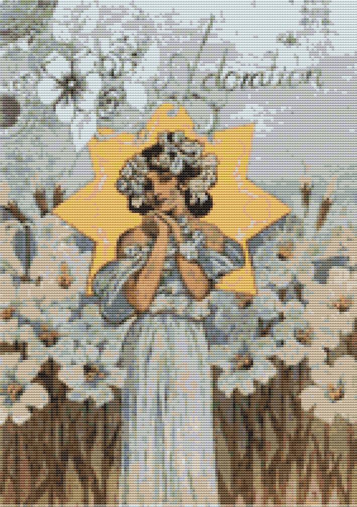 Adoration Cross Stitch Pattern