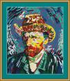 Vincent Van Gogh Cross Stitch Pattern
