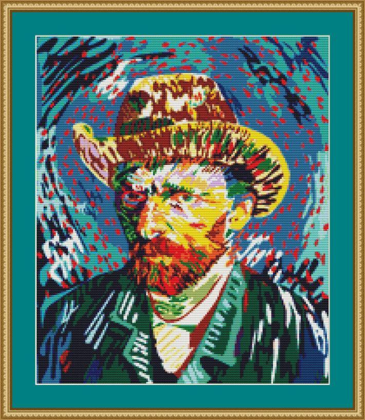 Vincent Van Gogh Cross Stitch Pattern
