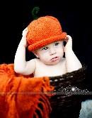 Pumpkin hat Newborn Size Photo Prop halloween punkin hat pumkin hat unisex