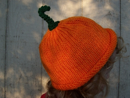 Pumpkin hat Newborn Size Photo Prop halloween punkin hat pumkin hat unisex