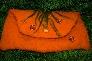 wonderful orange clutch