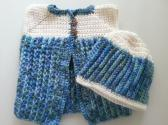 Through the Meadow Baby Vest Set