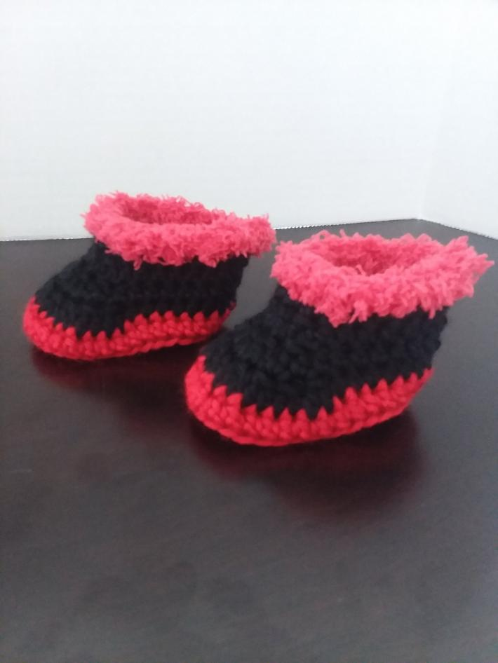 Black Baby Ankle Boots