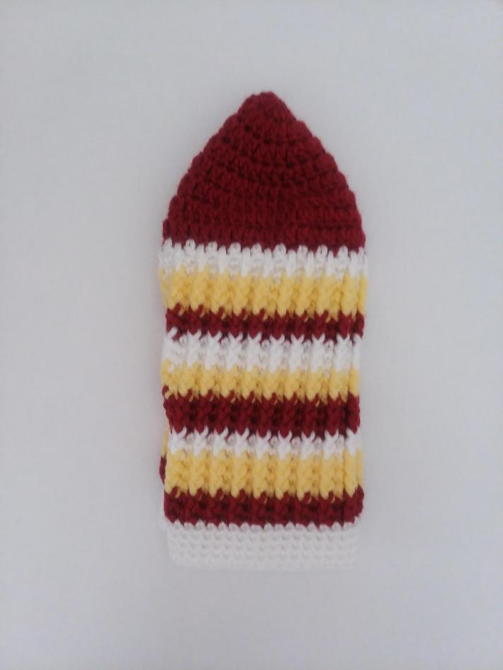 Red White Yellow Beanie