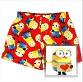 Boys Red Minions Pull Ups Boxer Shorts Briefs Underwear
