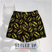 Batman Toddler Boys Boxer Shorts Kids Black And Gold Briefs Underwear