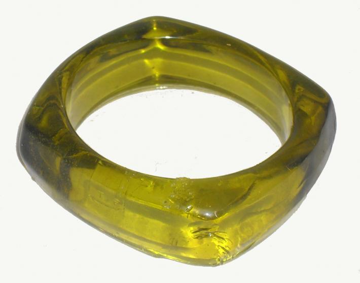 Black Aztec Gold Chunky Bangle