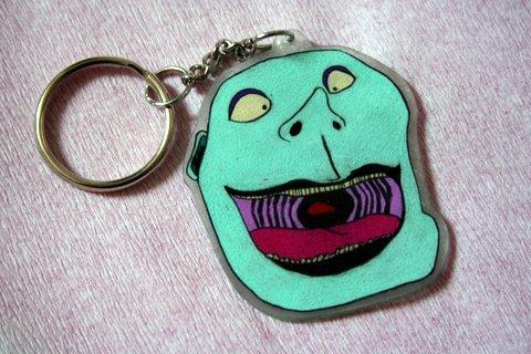 Big Head Keychain