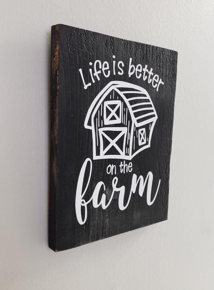 Life is better on the FARM