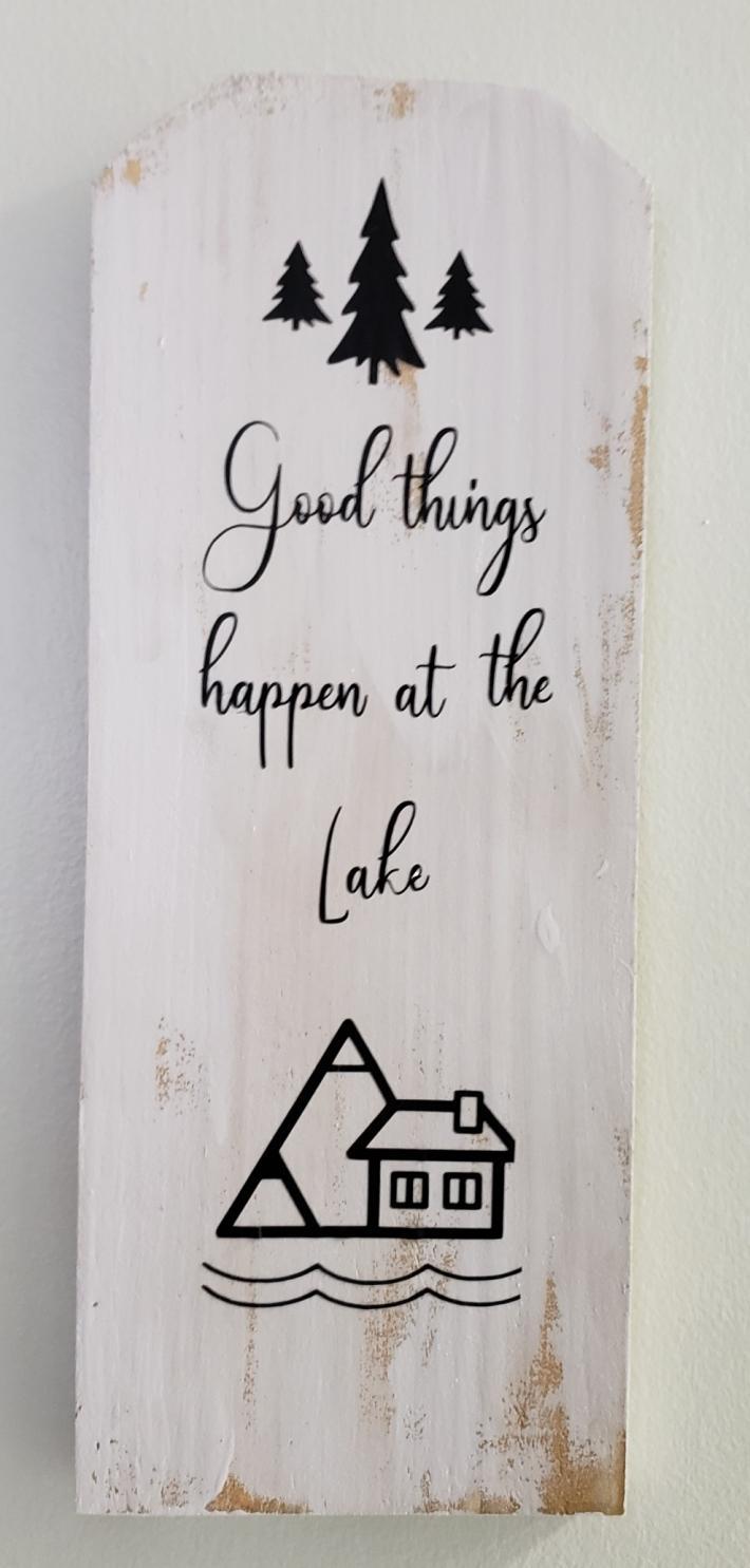 Good things happen at the lake