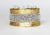 Swedish Lapland Sami Bracelet Gold Leather SMALL B99 Midnight Sun
