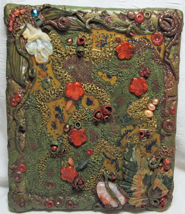 Amazon Polymer Clay Jungle Picture Tile