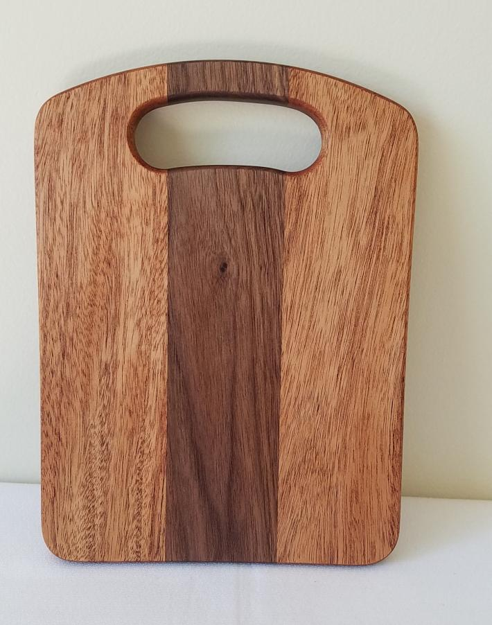 Mahogany Serving Board