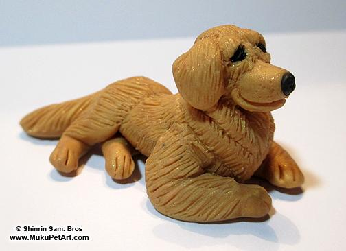 Custom Clay Pet Sculpture