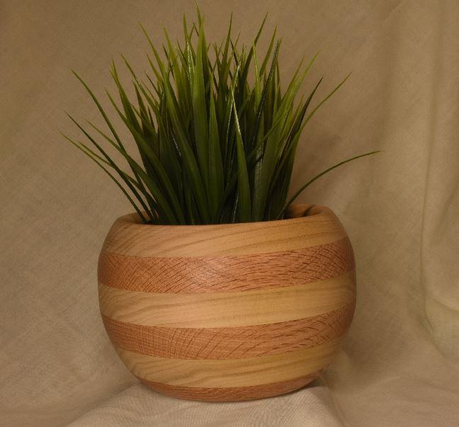 Red Oak and Poplar Bowl
