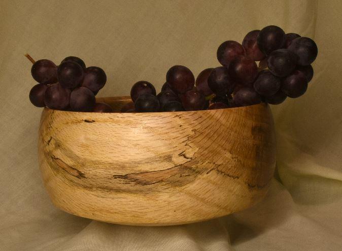 Oak bowl large