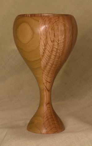 Poplar and Red Oak mini Goblet