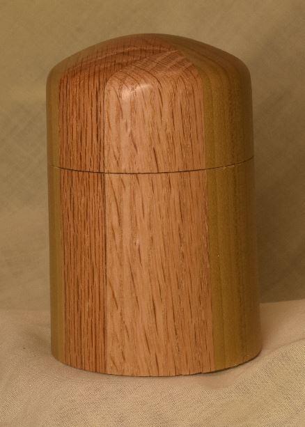 Poplar and Red Oak Box