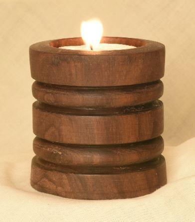 Walnut Tealight