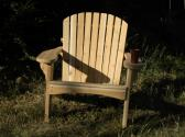 The Regal Cedar Adirondack Chair with Stainless Steel Hardware
