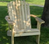Big and Tall Adirondack Chair with Stainless Steel Hardware