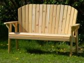 Adirondack Garden Bench with Stainless Steel Hardware