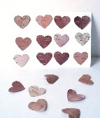 Birch Bark Heart Card Making Rustic Wedding Invitations Woodland Quantity 12