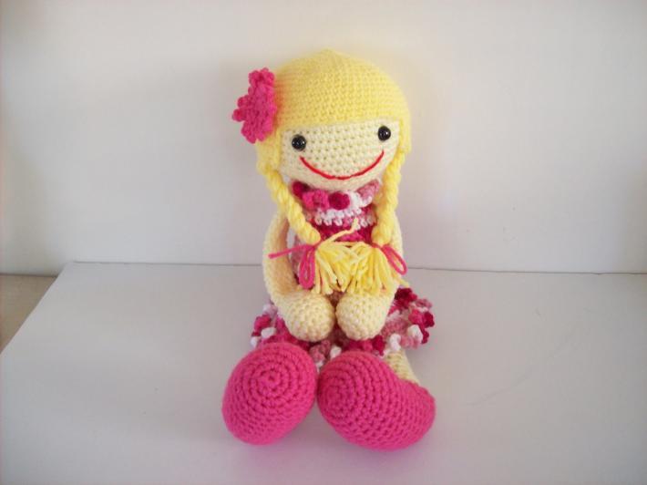 Hand Crochet Doll