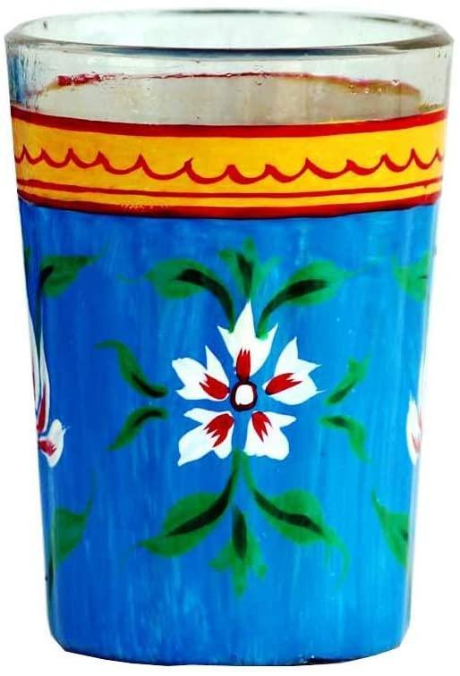 Hand painted traditional Design aluminum tea pot Tea Kettle decoration home décor