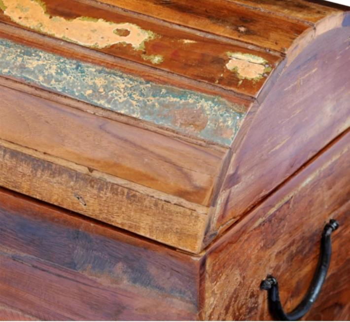 Handmade Reclaimed solid Timber wooden storage