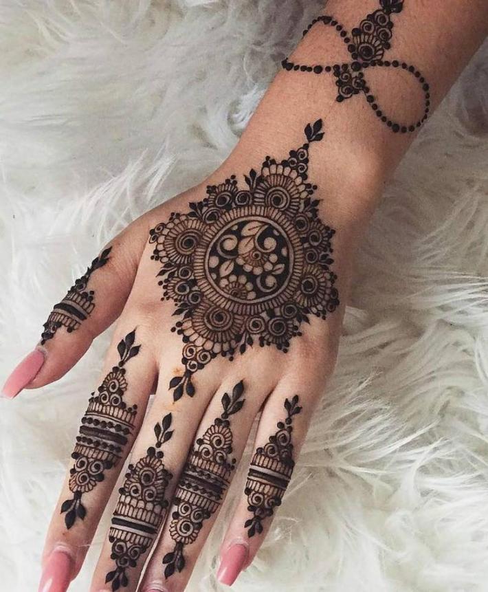 Natural Henna Mehandi Cones Temporary Body Ink Tattoos Bridal Makeup Kit set 5