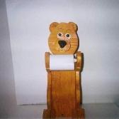 Bear toilet tissue holder