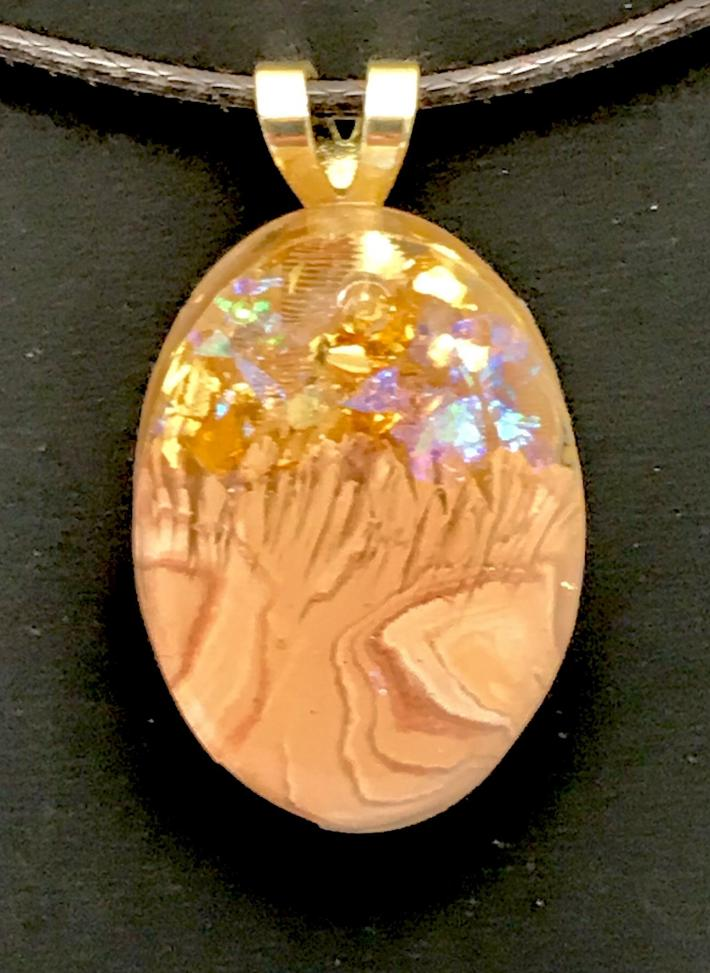 """Unique Baubles Unlimited Necklace """"In the Woods"""""""