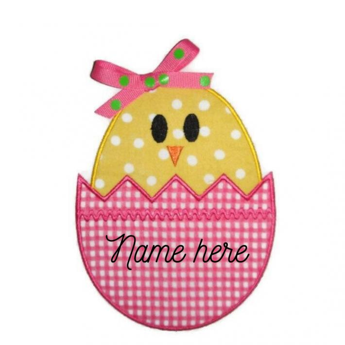 Easter dining table placecards