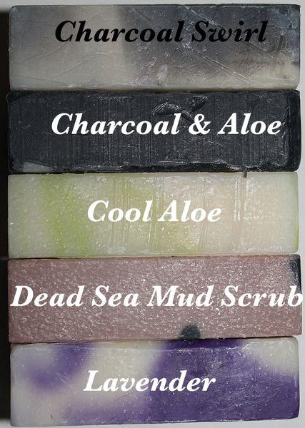 Buck Lees All Natural Swirl Scented Bar Soap 5 Pack