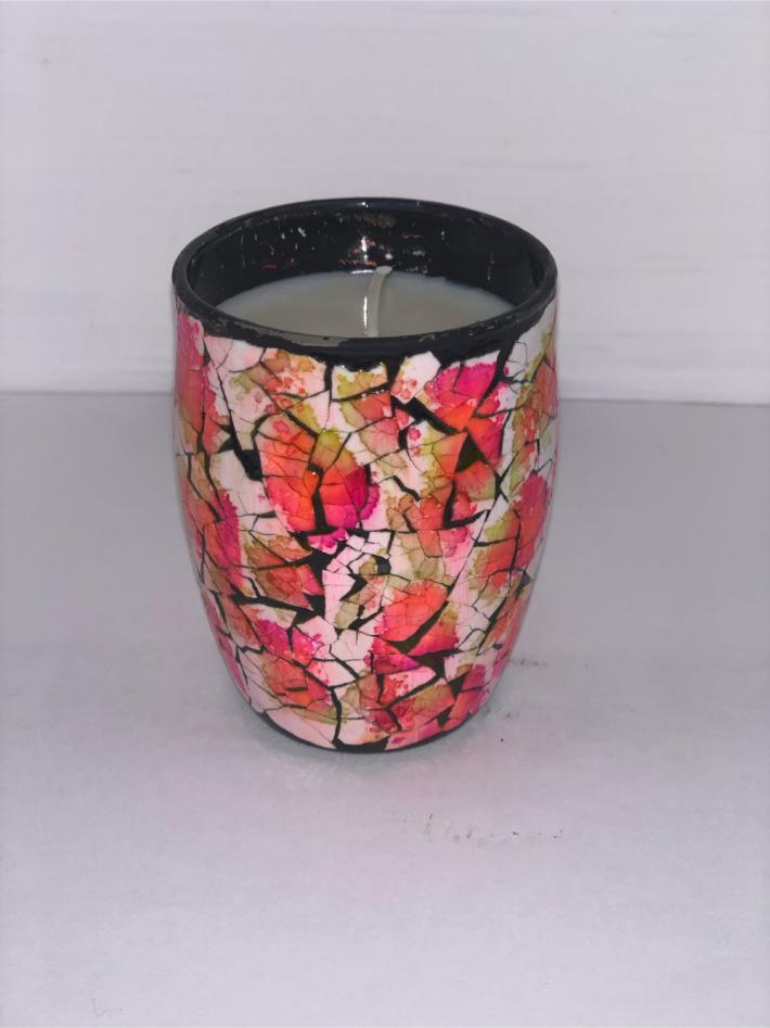 Strawberry Pink Lemonade Eve Aura Candle 4oz
