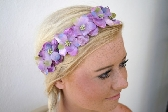 Lilac Flower Woodland Headband