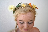 Rustic Woodland Vine Crown